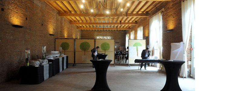 Intérieur de l'Orangerie de Rochemontès