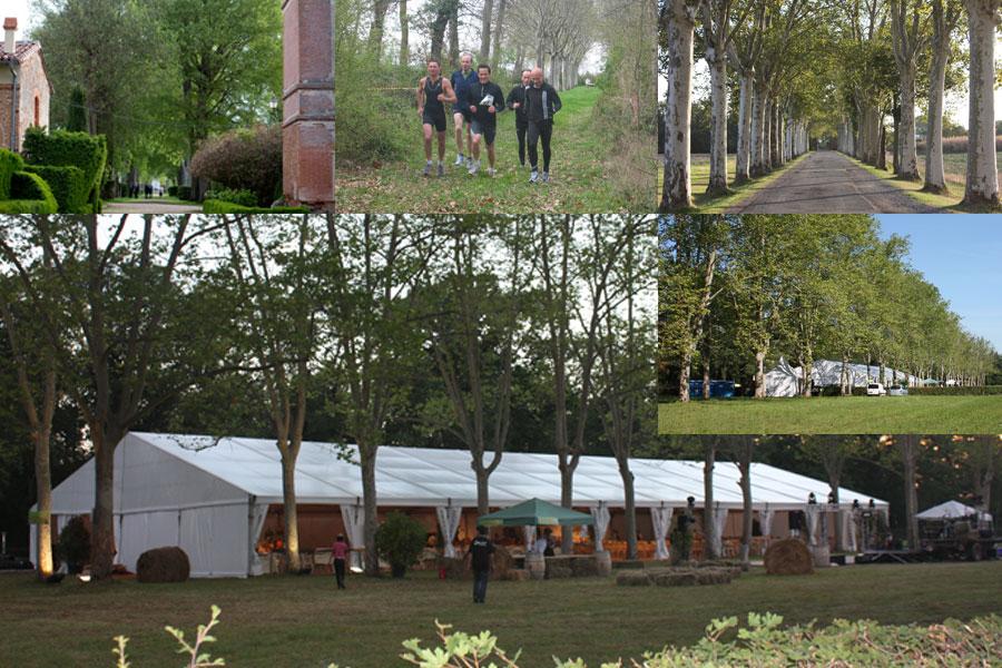 Activités dans le parc du domaine de Rochemontès