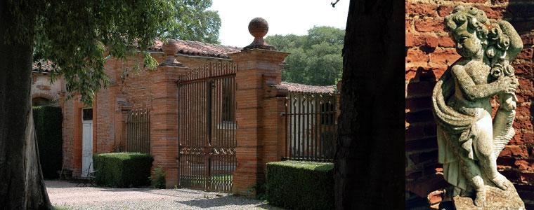 Portail du château de Rochemontès