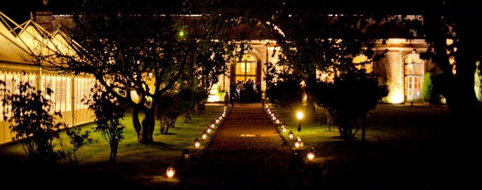 orangerie mariage nuit