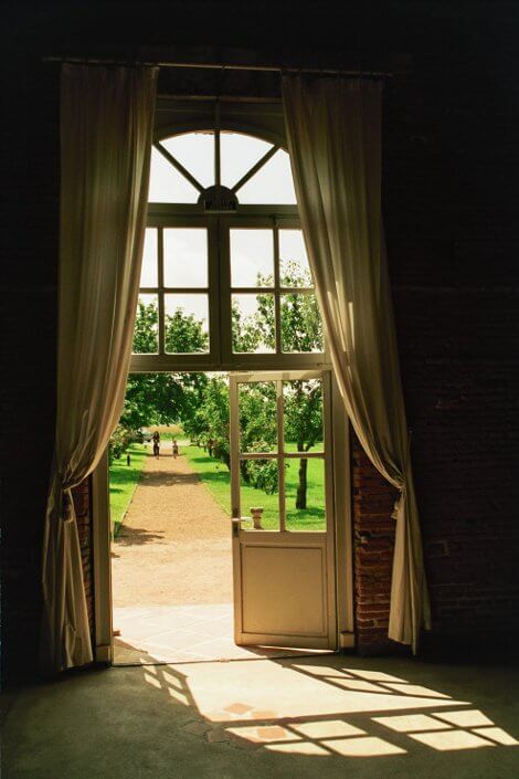 orangerie porte interieur