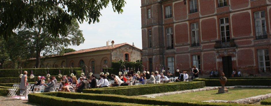 Cérémonies laïques au Château de Rochemontès