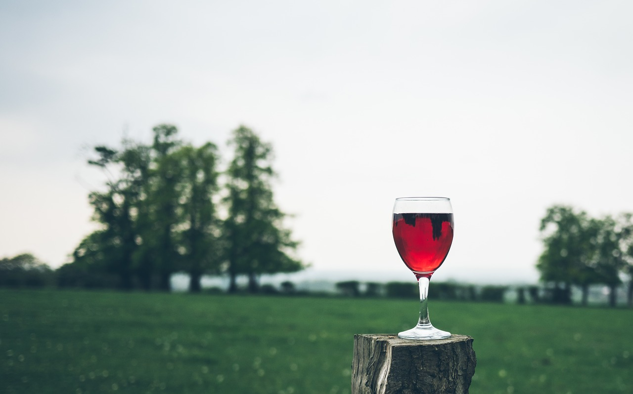 verre vin de vin rouge