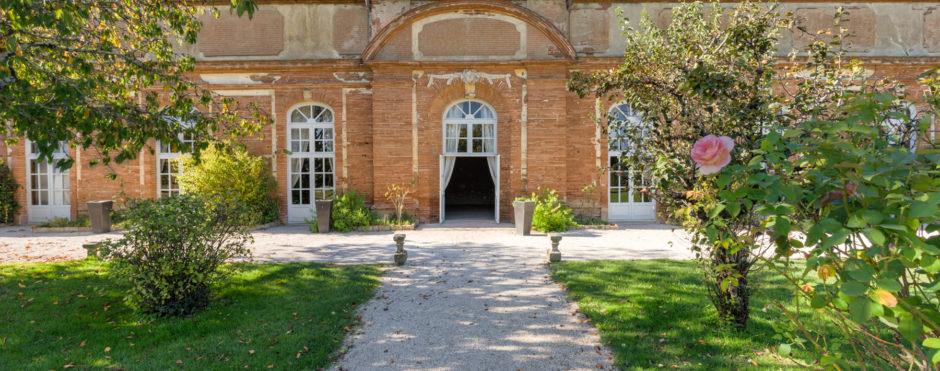 Façade de l'Orangerie de Rochemontès